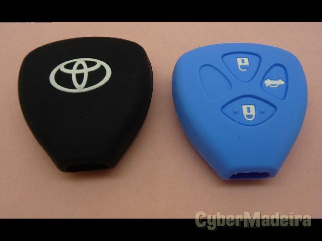 Capas chave Toyota silicone