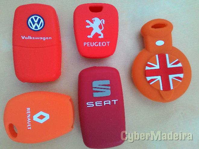 Capas silicone vw Audi Bmw mini etc...