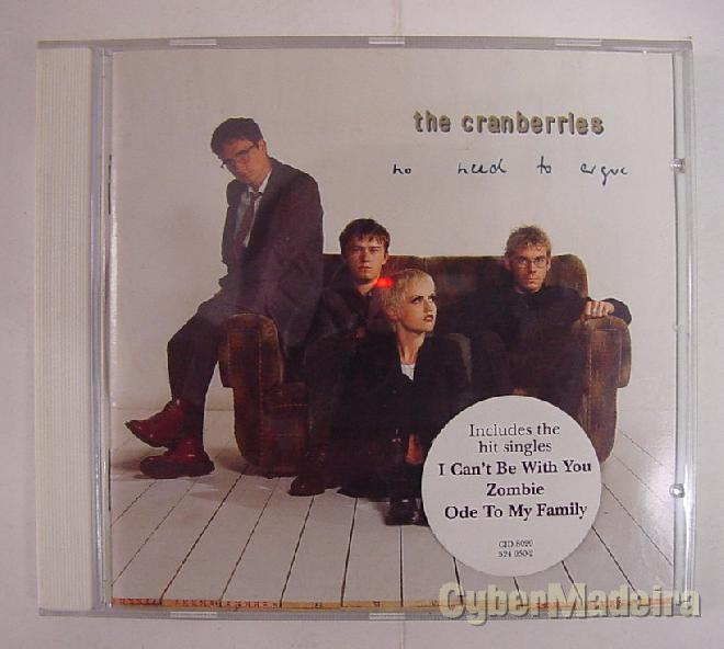 Cd no need to argue - the cranberries