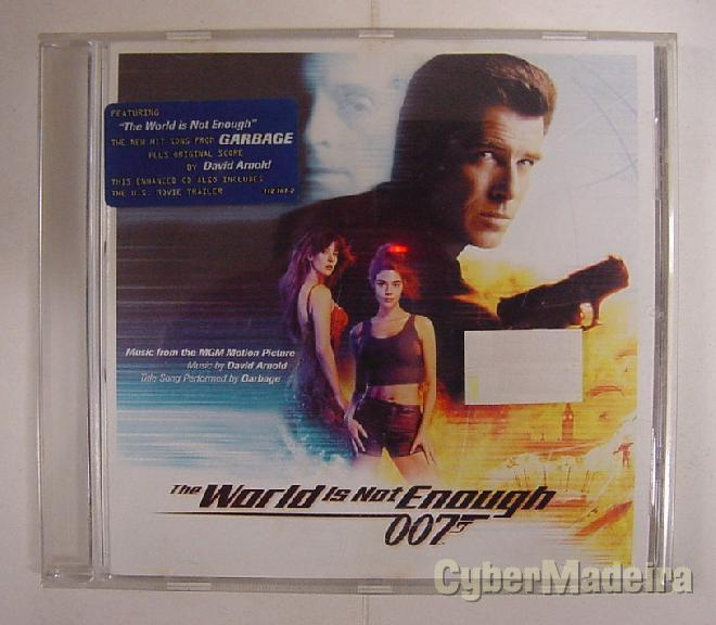 Cd ost 007, the world is not enough