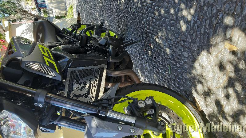 Yamaha Mt 09 750 cc Supersport