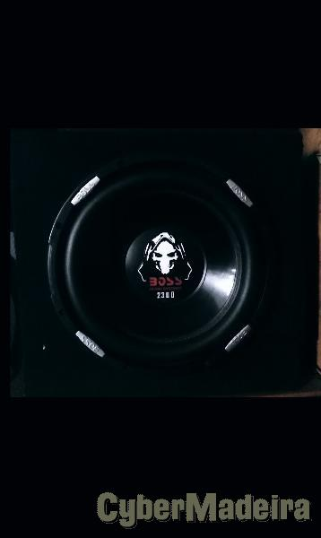 Subwoofer boss 2300 hight quality