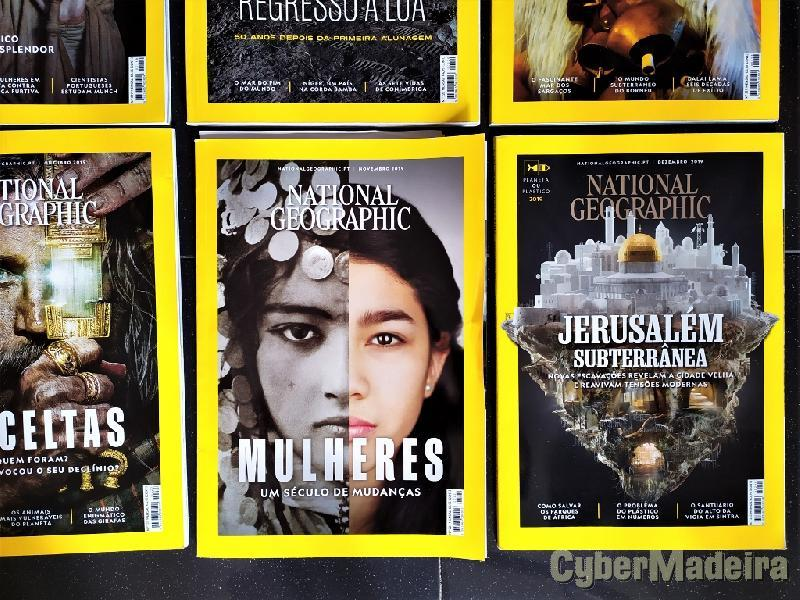 Revistas National Geographic 2019