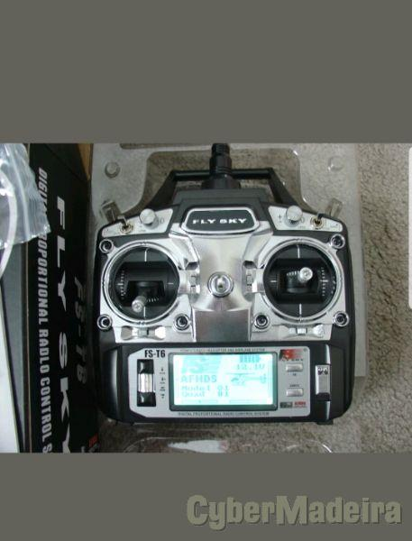 Radio control Fly Sky Fs T6 2.4Ghz Digital
