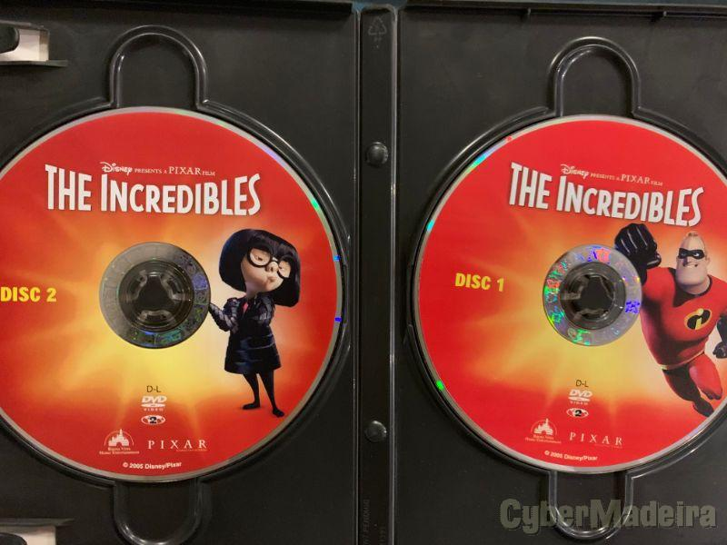 DVD The Incredibles