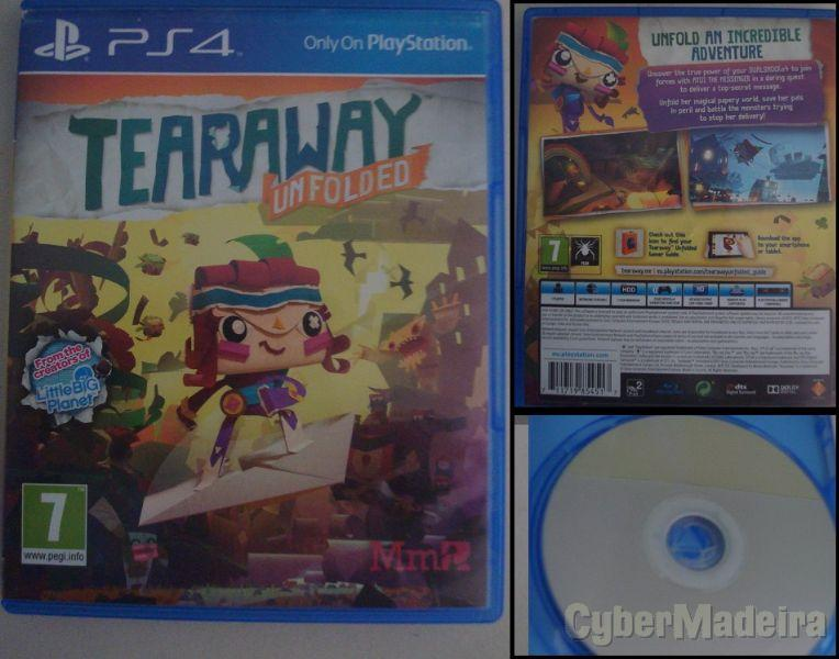 Tearaway Unfolded - PS-4 (vendo ou troco)Aventura