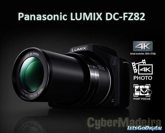 Panasonic fz82 60x zoom opticoPanasonic
