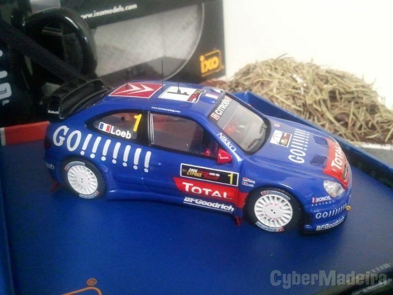 Ixo - Citroen Xsara WRC - S. Loeb - Rally Chipre 2006 - Escala 1:43