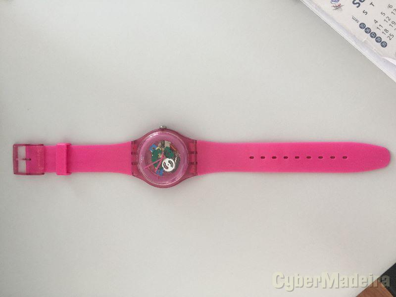 Relógio Swatch SUOP100 Pink Lacquered