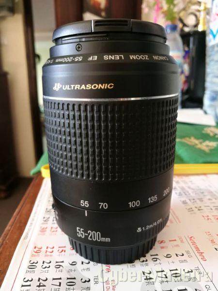 Vendo Objetiva ultrasonic 55-200mm. 120EUROS