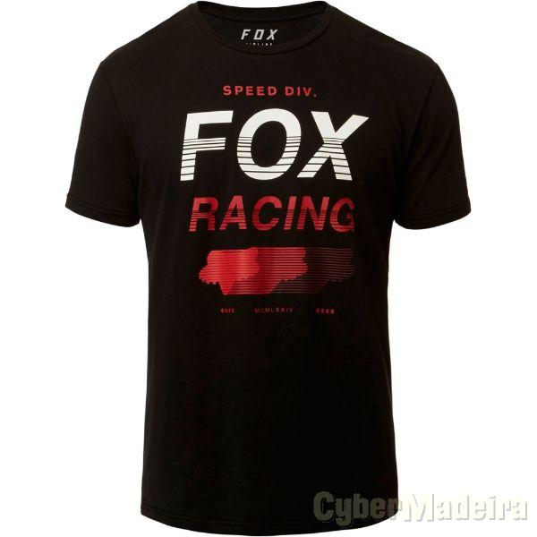 T-Shirt FOX Unlimited Airline BLK